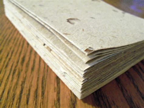 Make Recycled Paper - 10 blank cards handmade paper recycled paper eco friendly