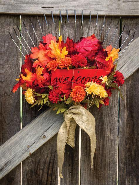fall garden decor garden gate decoration for fall hgtv