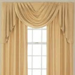 Jcpenney Custom Draperies Jcpenney Supreme Cascade Swag Set Valances