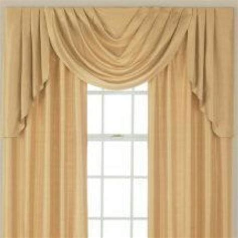 jcpenney supreme draperies jcpenney supreme cascade swag set valances