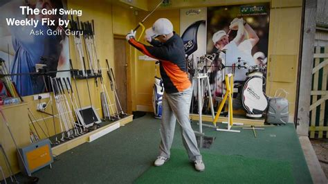 swing gyde the golf swing weekly fix swingyde clubface control and