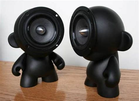 cool speakers speakers that think outside the box cool material