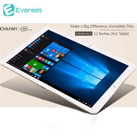 Tablet Android 12 Inch 12 quot inch chuwi hi12 dual os windows 10 android 5 1 tablet