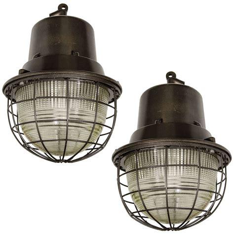 Large Industrial Pendant Lighting Large Metal Industrial Pendant Lights With Ribbed Glass At 1stdibs