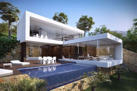 home design 3d jardin casas modernas com piscina 49 modelos para te inspirar