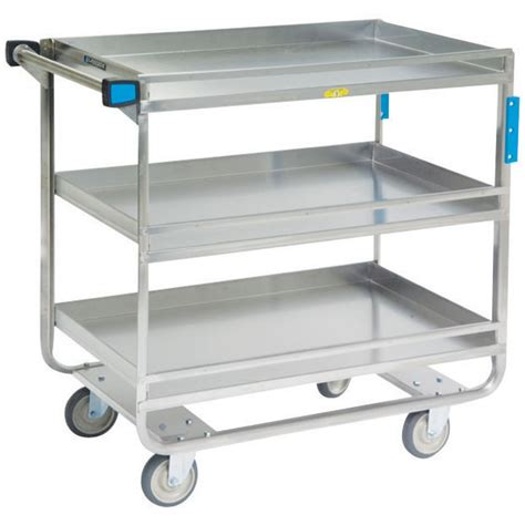 stainless steel cart lakeside stainless steel guard rail utility carts
