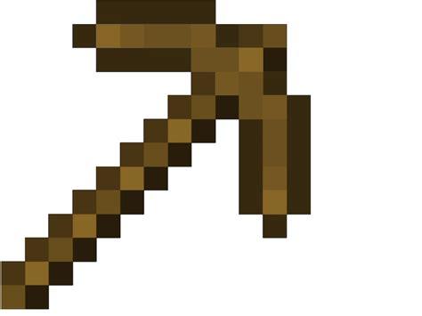 Minecraft Papercraft Pickaxe - wooden pickaxe minecraft