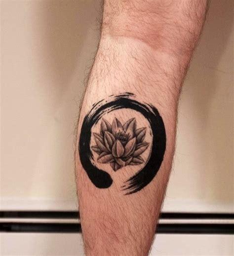 lotus enso tattoo love love the brush stroke work by horimyo tattoos