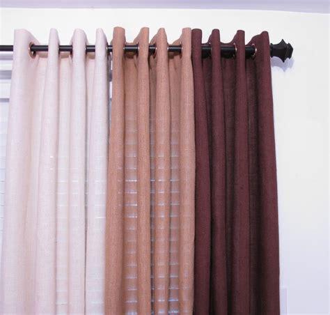 Grommet Burlap Curtains Www Etsy Bedroom Curtain Burlap Drapery Valance Grommets Quality Curtains Custom