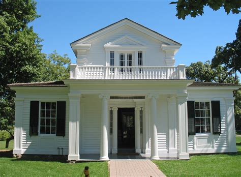 Greek Revival Homes | greenfield village greek revival house a photo on