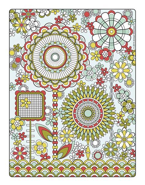 mandala design coloring book jenean morrison flower designs coloring book by jenean morrison