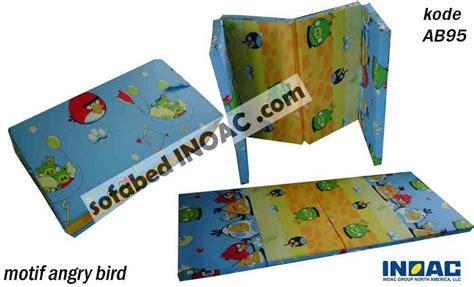 Kasur Lantai Busa Tipis kasur lantai angry bird biru muda spesialis sofabed