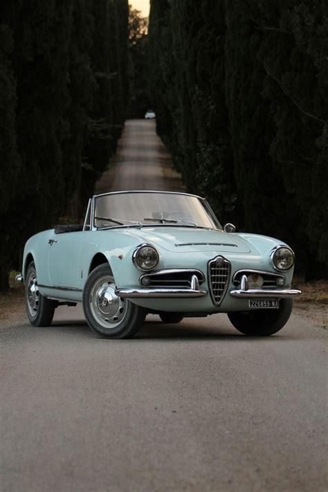 alfa romeo classic blue love of my life 1962 alfa romeo giulia spider convertible