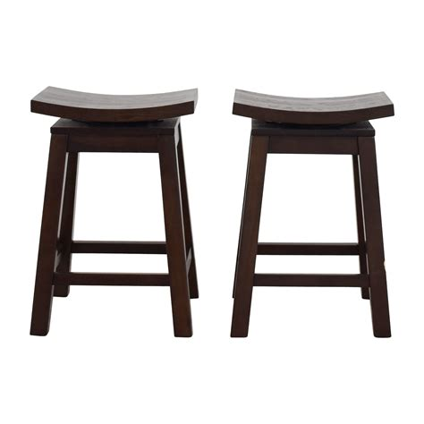 Asian Style Counter Stools by Counter Height Bar Stools Chairs Walnut Wood Counter
