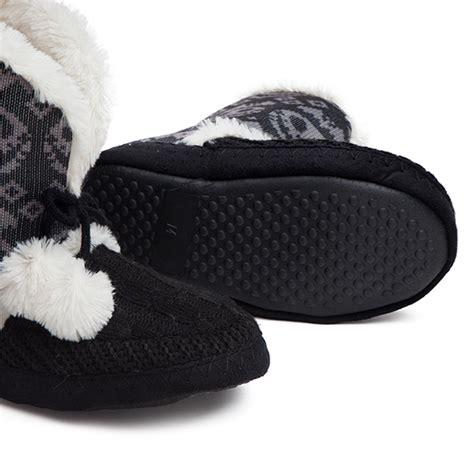 nightmare before slipper boots nightmare before fair isle boot slippers thinkgeek