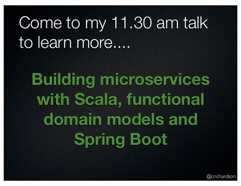 start building restful microservices using http with scala a start guide to building microservices using http with scala in a one week read books developing applications with a micro service architecture
