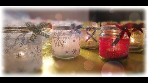 candele fai da te tutorial diy porta candele natalizie fai da te tutorial