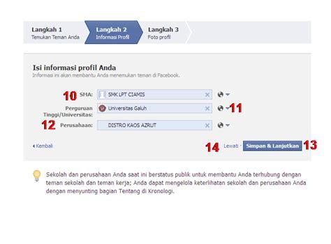 ingin membuat akun facebook cara membuat facebook baru fb baru arif s blog