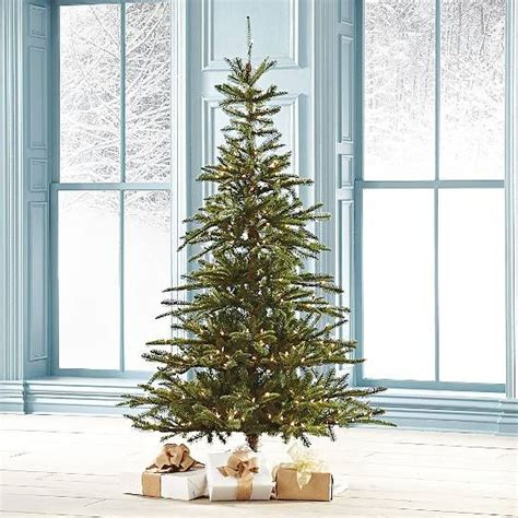 grandin roadtrees christmas artificial pre lit noble fir artificial tree grandin road stuff