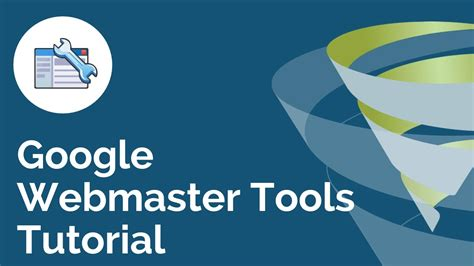 webmaster tools tutorial webmaster tools tutorial t time with with tillison youtube