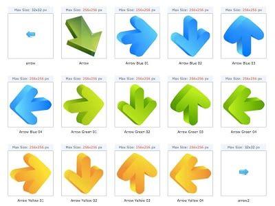 gambar ikon format pointer tempat menemukan ikon dan gambar gratis untuk web designer