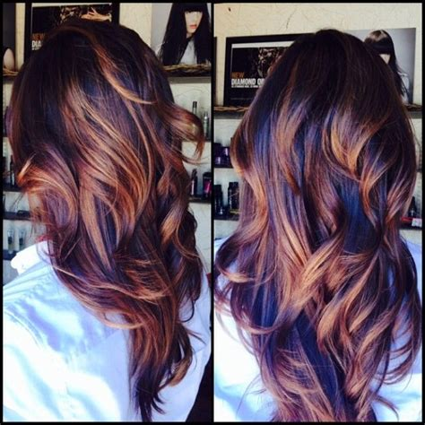 cute hair color ideas for winter hair color trends 2017 2018 highlights