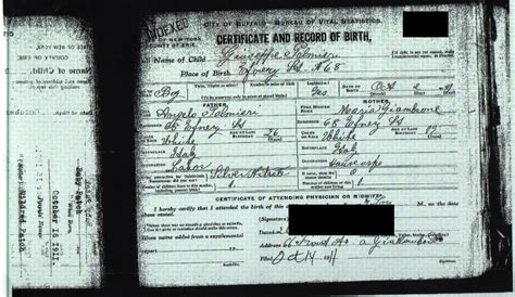 Birth Records New York State New York Genealogy And Jure Sanguinis