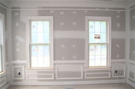Wainscoting Around Windows by Wainscoting Ideas For Dining Room Around Windows
