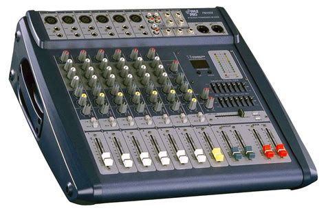 Mixer 6 Chanel Murah pylepro pmx608 sound and recording mixers dj controllers