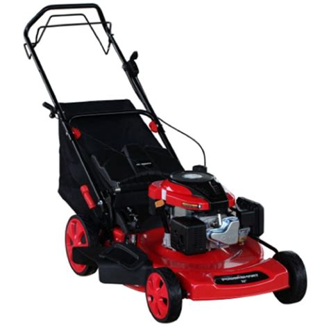 powersmart lawn mowers 22 in 196cc 3 in 1 self propelled