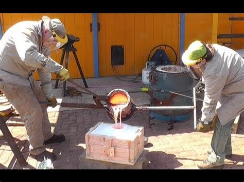 foundry pattern making youtube cnc pattern making and sodium silicate sand casting bronze
