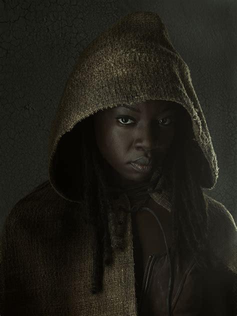 Walking Dead Michonne the walking dead cast photos season three scifi