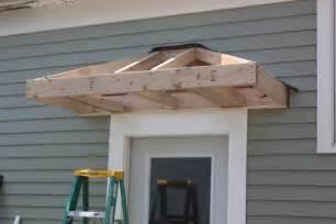 Small Awning Back Door by Bricks Honey Building The Back Door Overhang Window