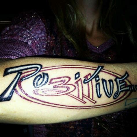 stay positive tattoo stay positive your lust