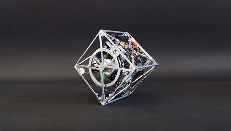 Balance Cube cubli a robotic cube that can walk and jump