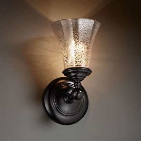 Black Bathroom Sconce Fusion Tradition Matte Black Wall Sconce Contemporary