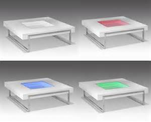 Color Changing Table Coffee Table That Changes Colors Walyou