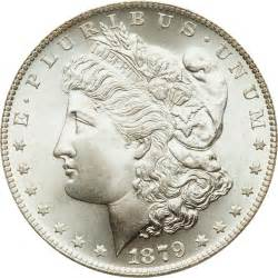 1879 morgan silver dollar silver value