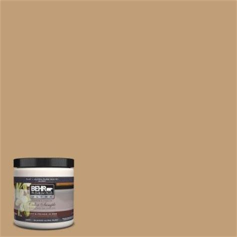 behr premium plus ultra 8 oz 300f 4 almond toast interior exterior paint sle 300f 4u the