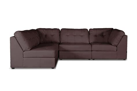 modular leather sectional sofa leather sofas and sectionals