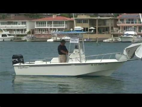 edgewater boats youtube edgewater 185 center console video by south mountain