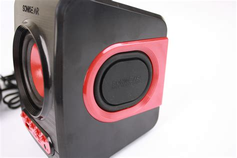 Sonicgear Quatro V Usb 2 1 Speaker sonicgear quatro v speaker 2 1 with bass biru