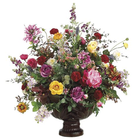 Silk Flowers In Vase Arrangements by Confessions Of A I M Talking To Him Or I M Talking To Him Now