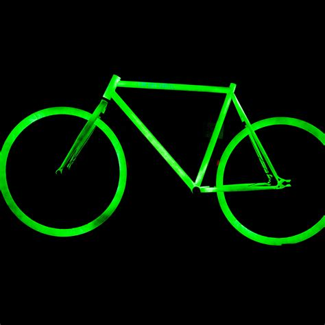 glow in the paint bicycle the illuminator bike cartel