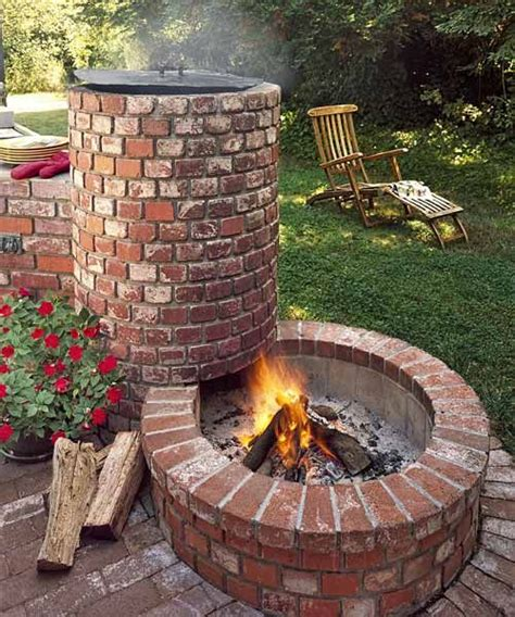 Bbq Firepit Back Yard Bbq Pit Ideas For