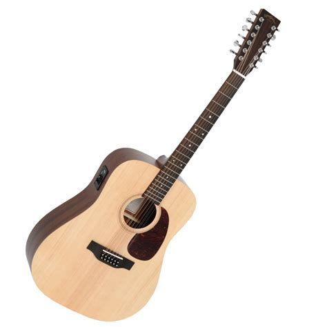 Portable Gitar Akustik Dm sigma dm12e 12 string electro acoustic guitar world