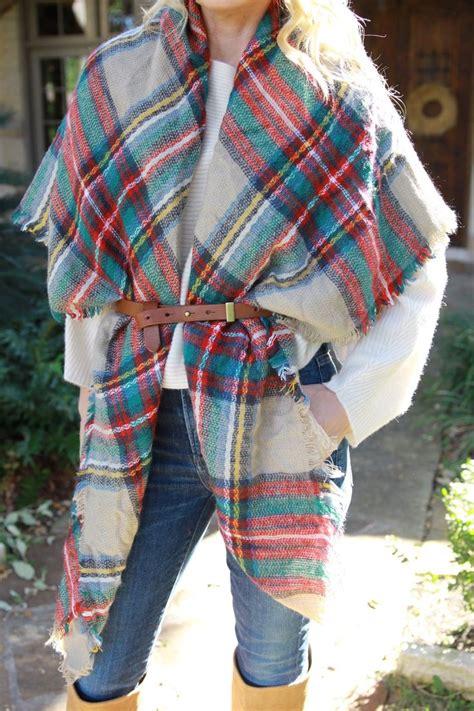 tutorial ways to wear a scarf ten ways to wear a blanket scarf busbee style scarfs