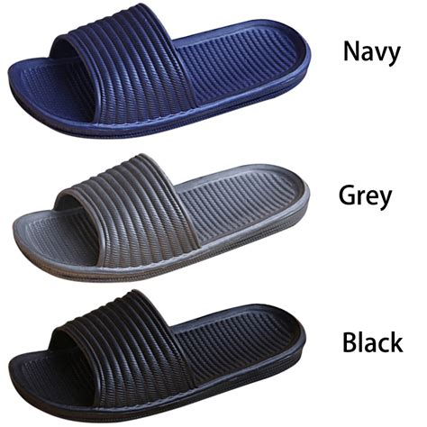 fashion mens anti slip sandals slide slippers cool