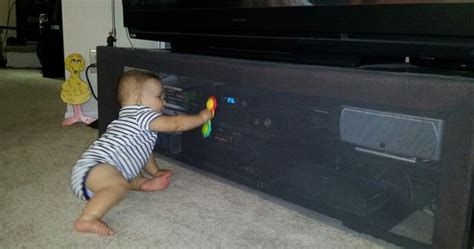 Qualigate Design Centered Childproofing by Baby Proofing The Entertainment Center Window Screen