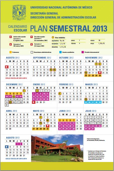 Calendario Escolar Unam Cch Calendarios Escolares 2012 2013 Escolar Mx